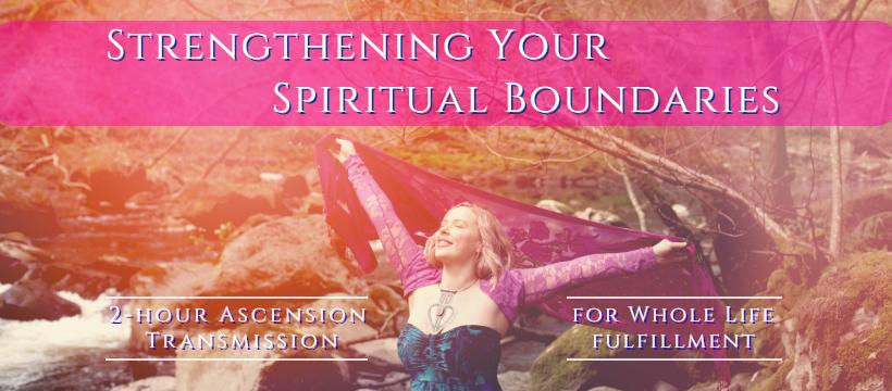 spiritual boundaries workshop